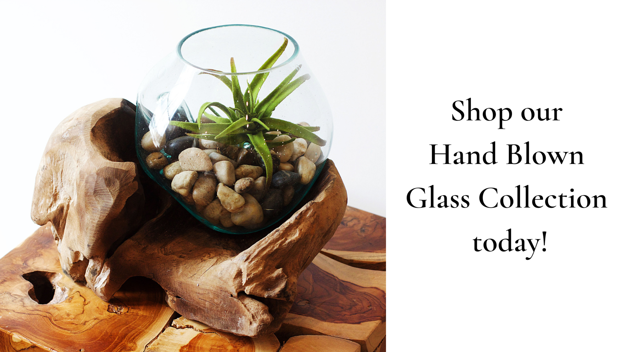 Shop our Handblown Glass Collection Today!