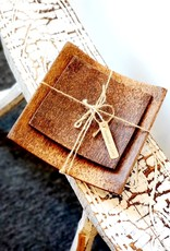 Coconut Wood Plate Set