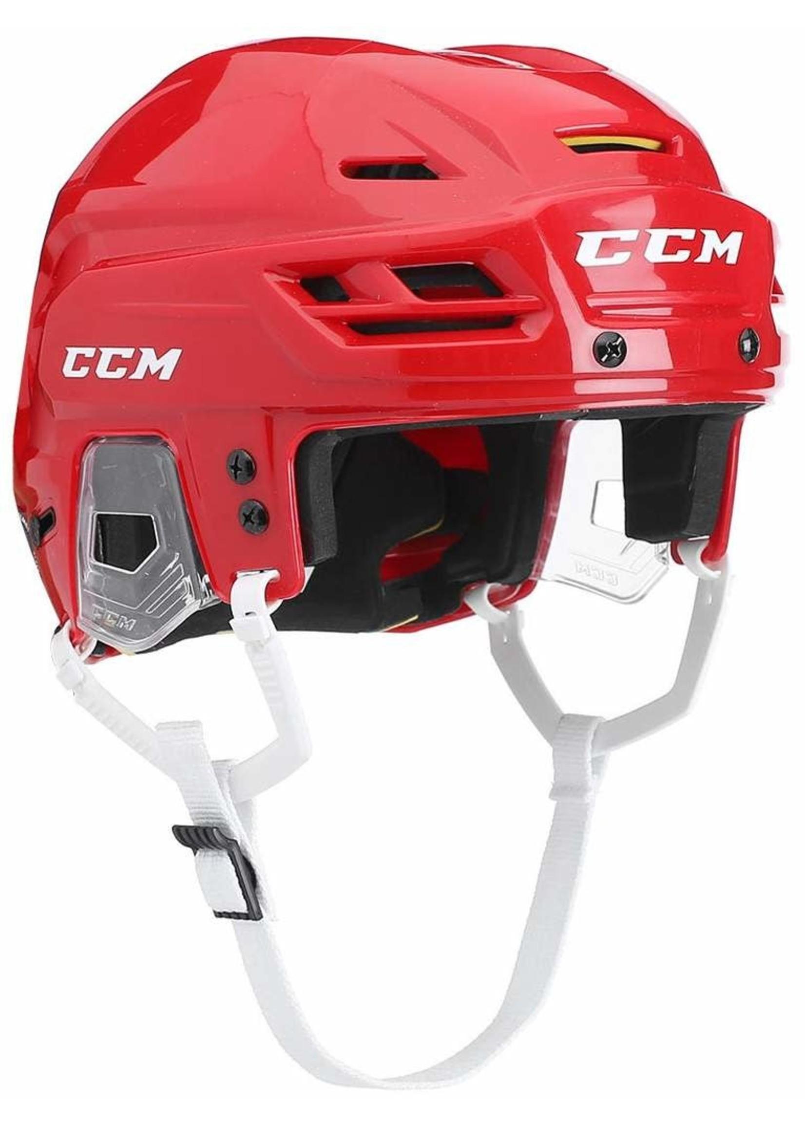 CCM CCM TACKS 310 CASQUE HOCKEY ROUGE