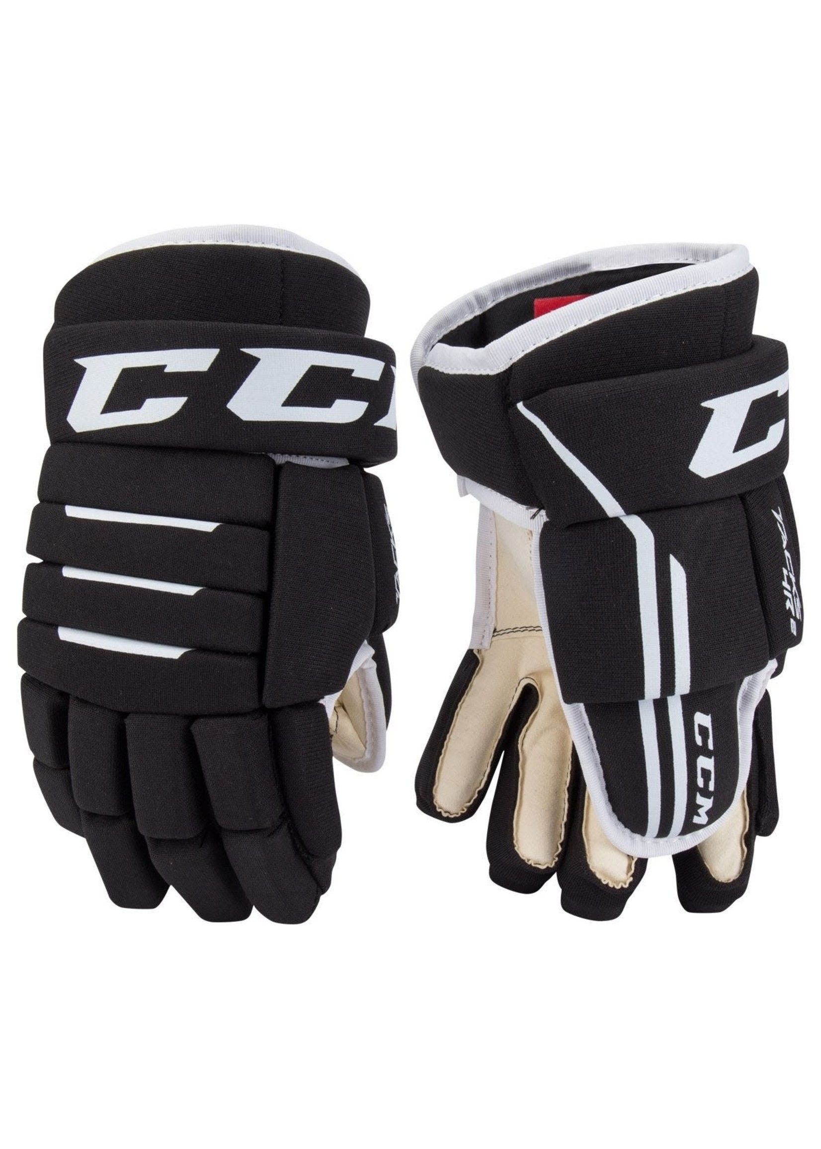 CCM CCM TACKS 4R2 GANT HOCKEY NOIR YT