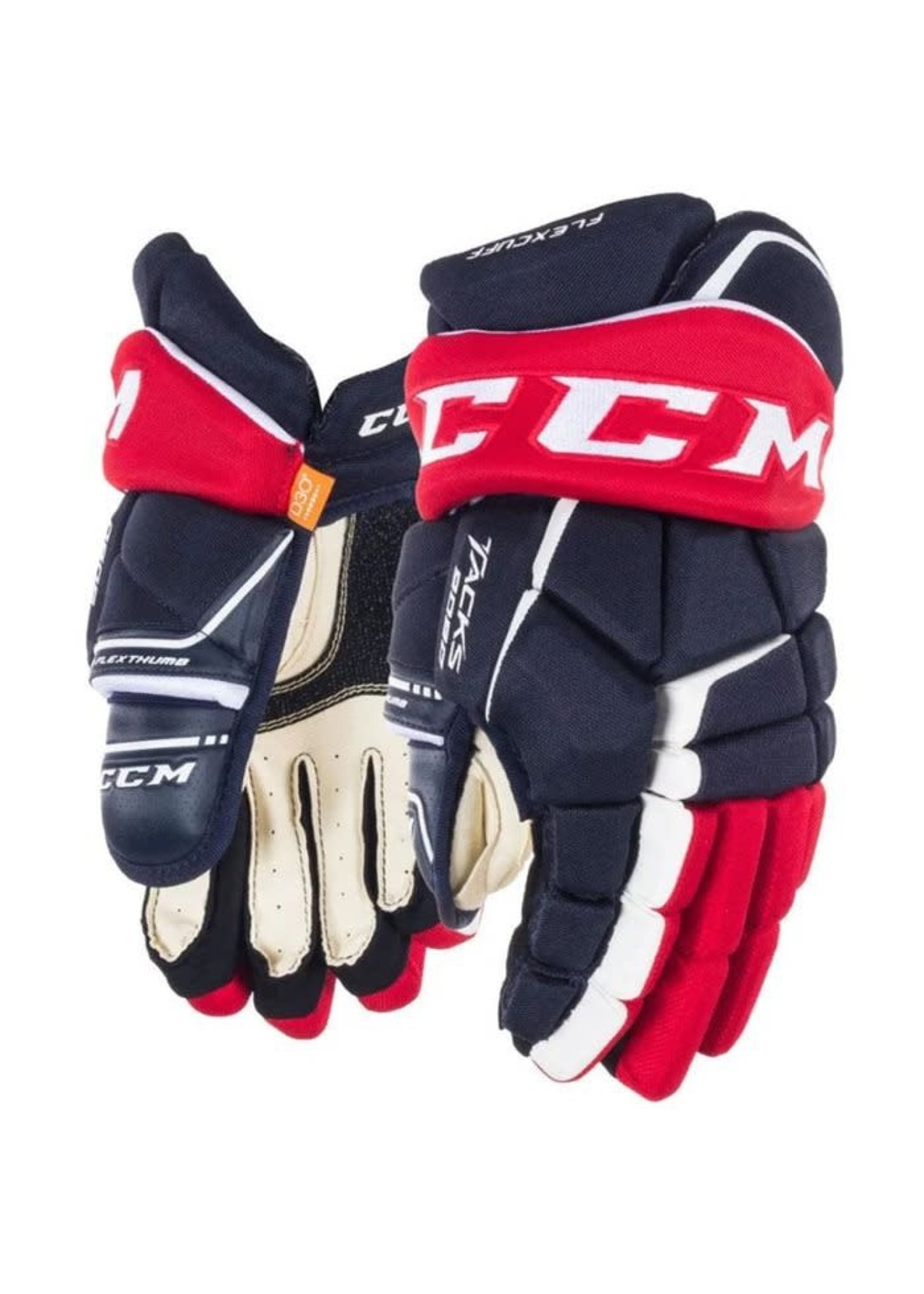 CCM CCM TACKS 9080 NOIR/ROUGE GANT HOCKEY SR