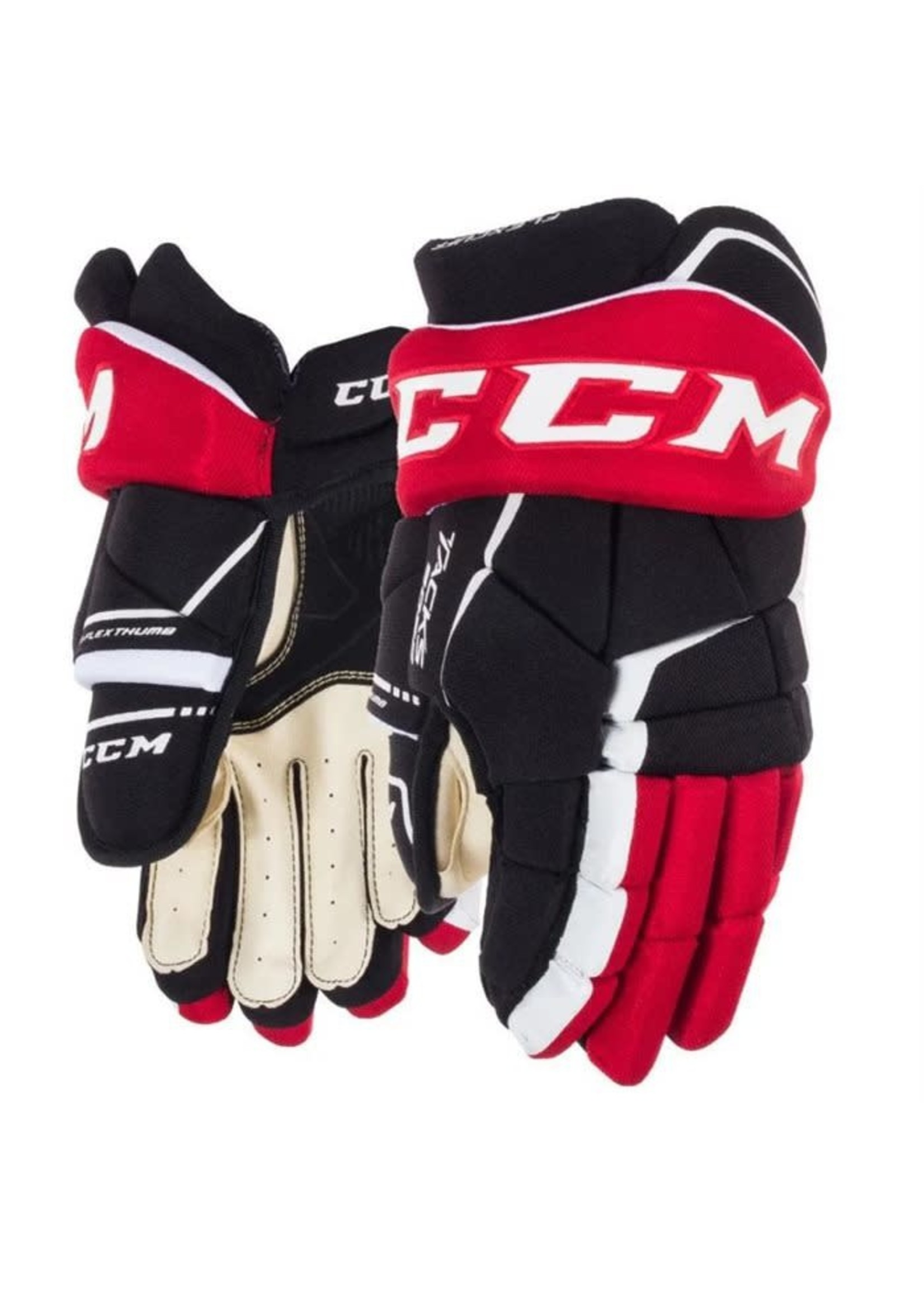 CCM CCM TACKS 9060 NOIR/ROUGE GANT HOCKEY SR