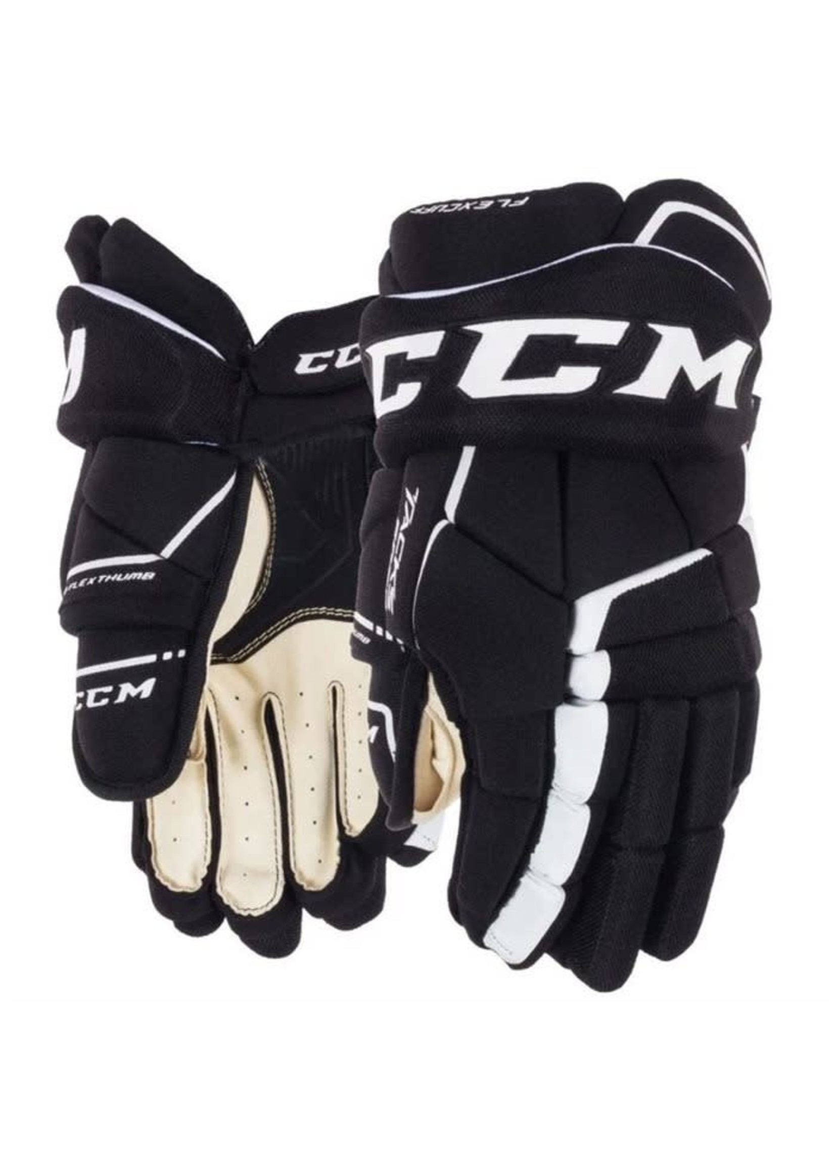 CCM CCM TACKS 9060 NOIR/BLANC GANT HOCKEY SR