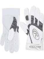 Rawlings RAWLINGS STORM BATTING GLOVES BLANC/GRIS  ADULT