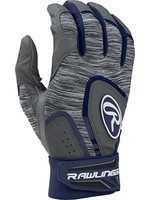 Rawlings RAWLINGS 5150 BATTING GLOVES NAVY/GRIS ADULT