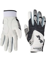 MIKEN MIKEN PRO BATTING GLOVES BLANC/NOIR ADULT