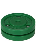 BLUE SPORTS SNIPE GREEN BISCUIT SHOOTING PUCK