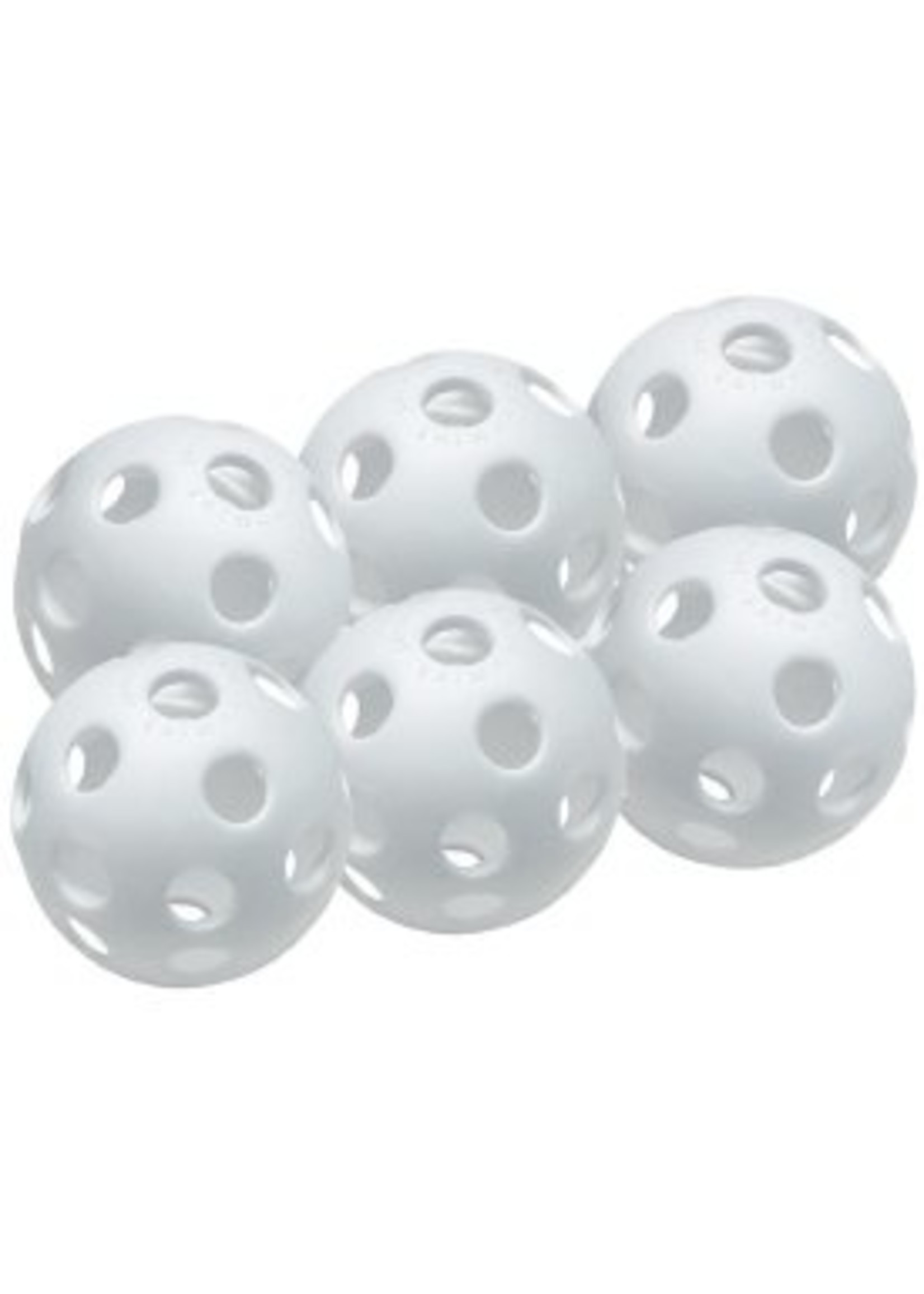 "Easton Baseball (Canada) EASTON 9"" WHITE PLASTIC TRAINING BASEBALLS   6PK PRICE   6 CASE PACKS QTYS"