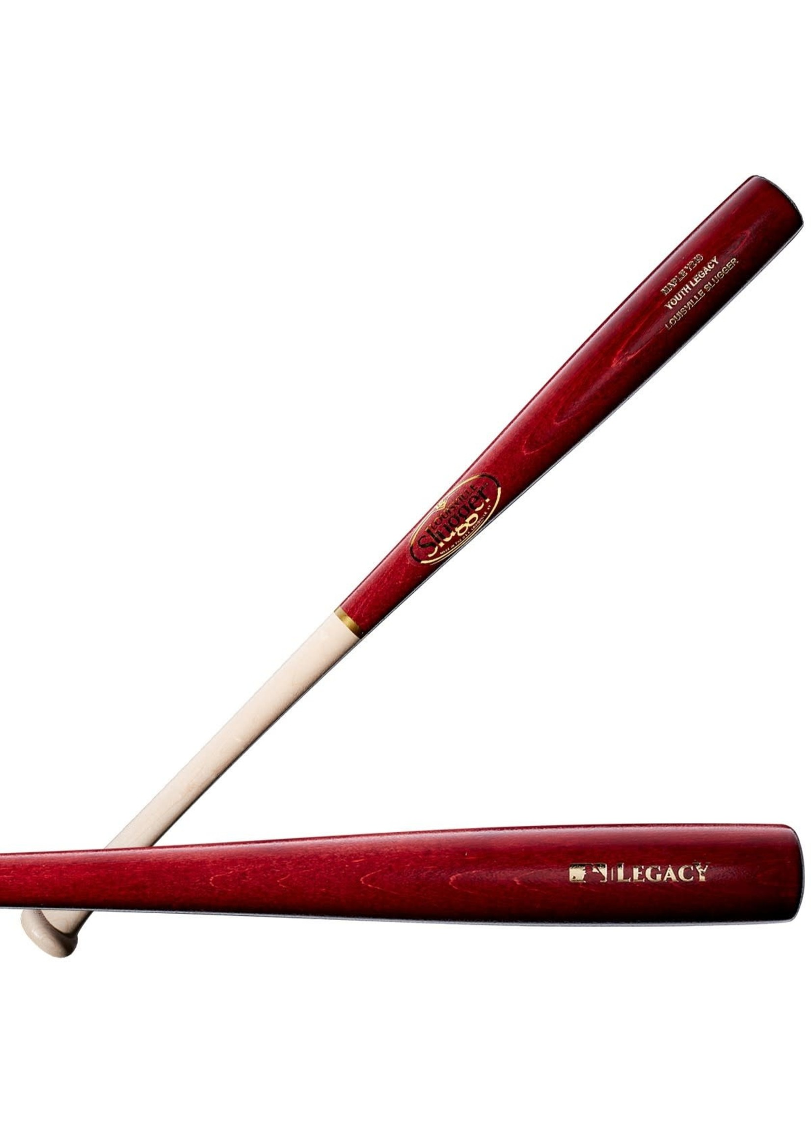 Louisville (Canada) LOUISVILLE YOUTH LEGACY MAPLE Y243 NATUREL/ROUGE VIN
