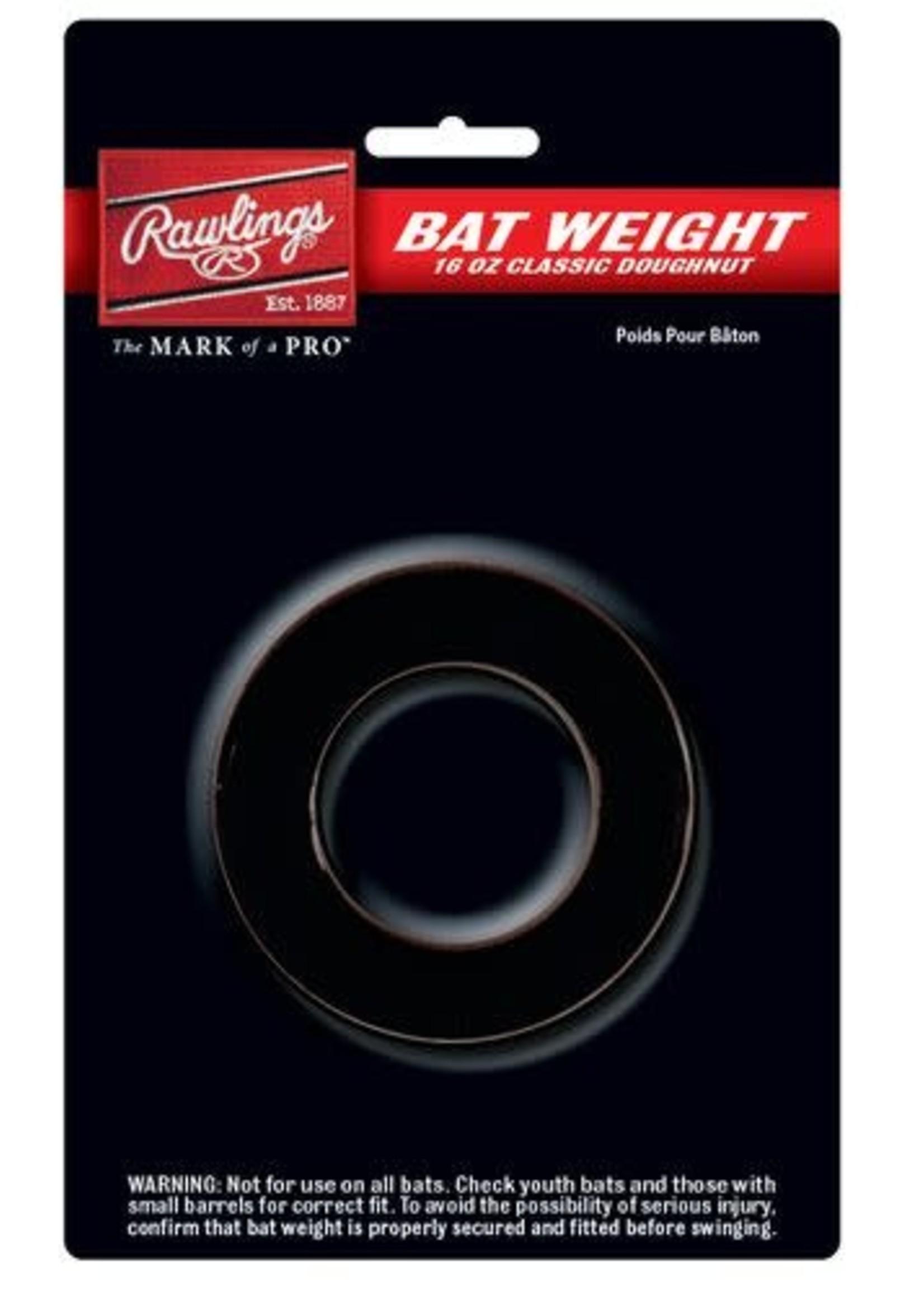 Rawlings Rawlings 16 oz. Doughnut-Style Bat Weight