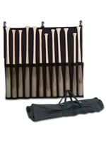 12 Bat Fence Carrying Bag Bat Rack