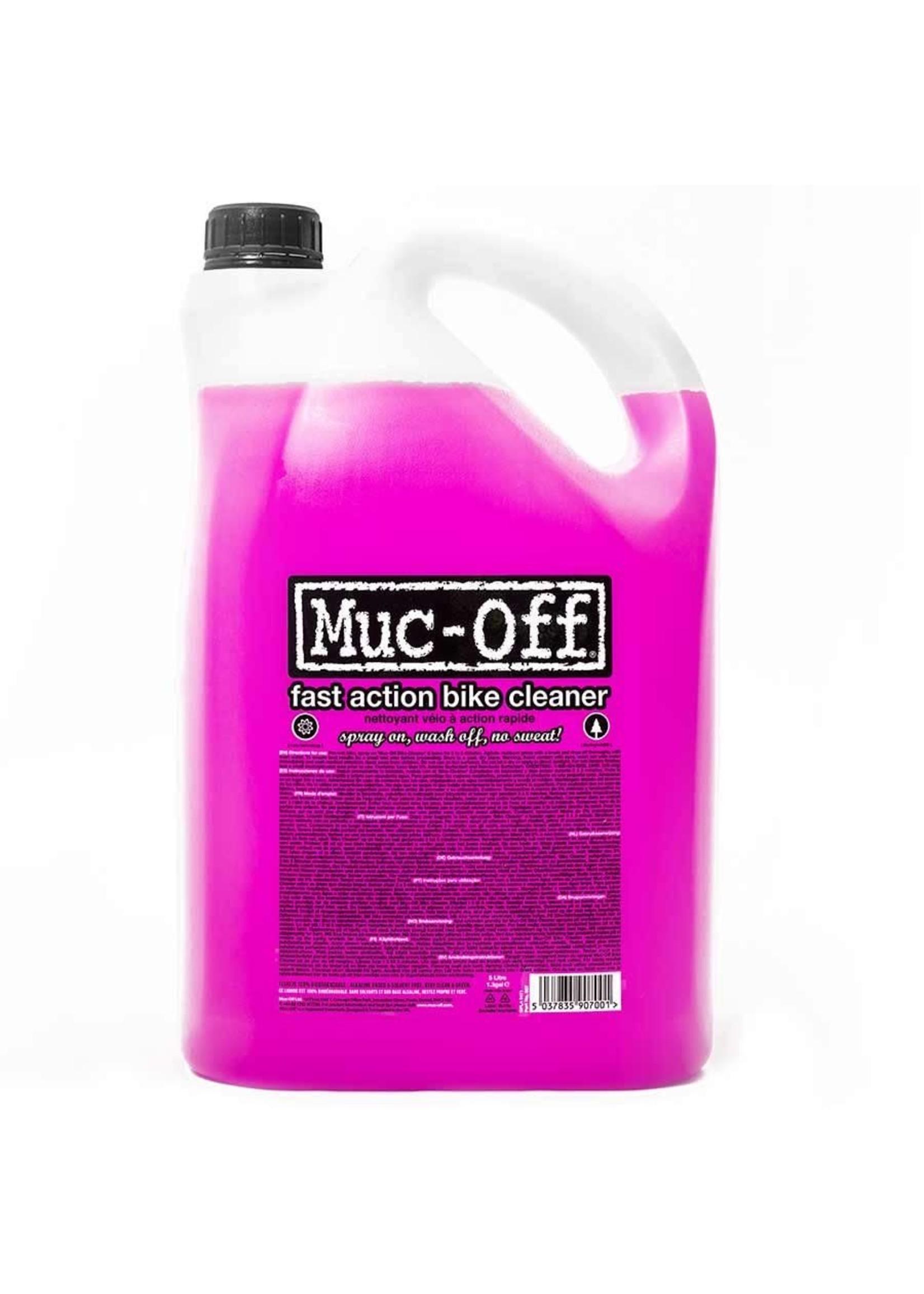 Muc-Off Muc-Off, Nettoyant de vélo Nano Tech, 5L