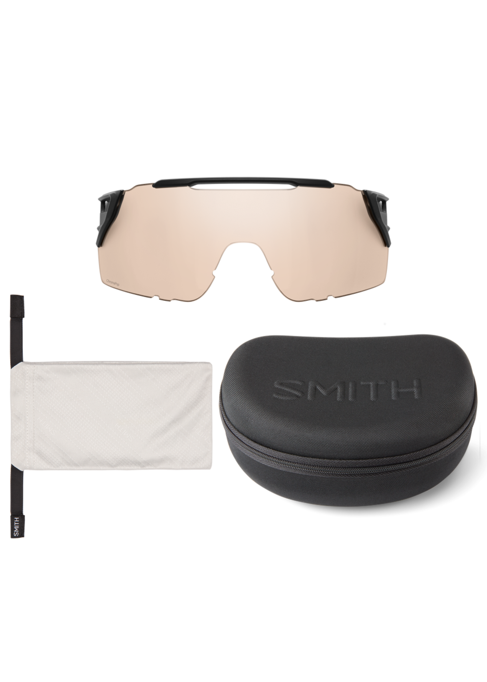 SMITH SMITH ATTACK MTB MATTE BLACK CHROMAPOP BLACK