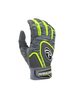 Rawlings RAWLINGS 5150 BATTING GLOVES NEON/GRIS ADULT