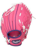 Rawlings RAWLINGS GANT DE BASEBALL YOUTH ROSE ET MAUVE