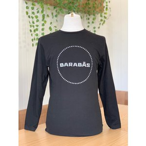 Black Long-sleeve shirt circle logo