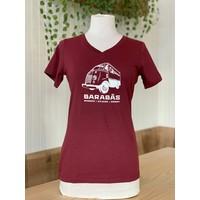 T-Shirt Bourgogne pour Femme
