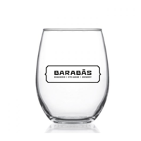 21oz Glass with Logo