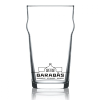 Britain Style Glass with Logo