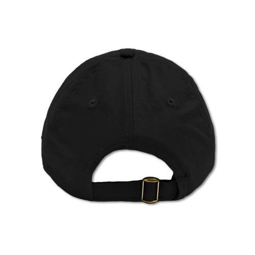 Casquette noire en coton