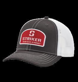 Striker Ice Logo Patch Trucker Cap Gray