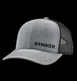 Striker Ice Hudson Trucker Cap Heather Gray