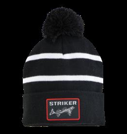 Striker Ice Striped Pom Hat