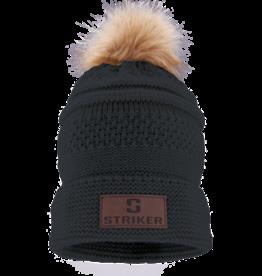 Striker Ice Women's Bemidji Fur Pom Hat