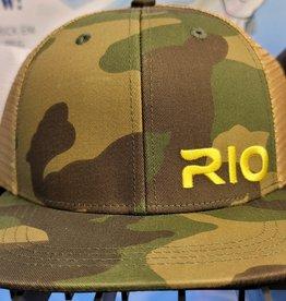 Triple 'S' Sporting Supplies RIO EMBROIDERED LOGO MESH BACK CAMO