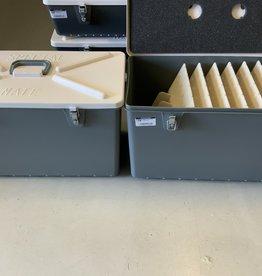 TRINITY INDUSTRIES MUSKIE TACKLE BOX  1345-GRAY