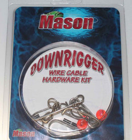 Mason Mason DHK Downrigger Cable Cable Hardware Kit
