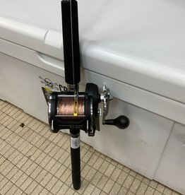 "OKUMA FISHING TACKLE CORP. Combo:  OKUMA 8'6"" CLASSIC PRO GLT / OKUMA CONVECTOR CV55L W/COPPER/LEAD CORE TROLLING ROD 2-PC ME w/400' COPPER"