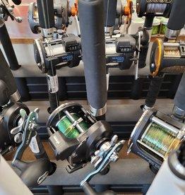 "OKUMA FISHING TACKLE CORP. COMBO:  OKUMA 8'6"" M CLASSIC PRO GLT DOWNRIGGER ROD / OKUMA CONVECTOR 45  W/40LB BIG GAME"