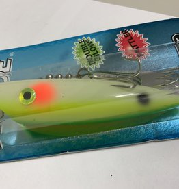 """SILVER HORDE FISHING SUPPLIES SILVER HORDE 5 W/RATTLE GLOW """"YELLOW TAIL"""