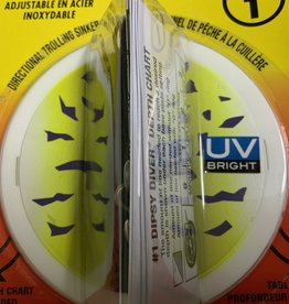 NORMARK CORPORATION JENSEN 1 Dipsy Diver  Purple Fire UV
