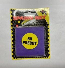 Redwing Tackle BLACKBIRD SPAWN NET SQUARES PURPLE 60 CT