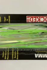 Addya Outdoors Inc. A-TOM-MIK TOURNAMENT PRE-RIGGED TROLLING FLY - UV GREEN GLOW  T-186