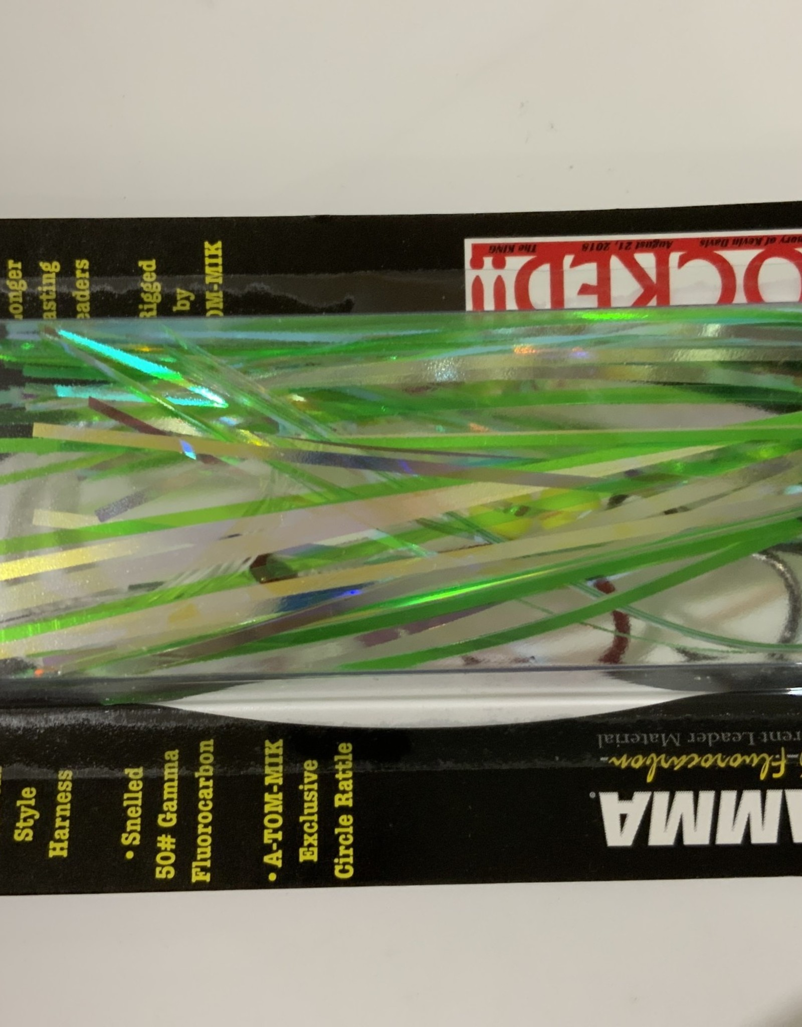 A-TOM-MIK MFG. A-TOM-MIK TOURNAMENT RIGGED TROLLING FLY- PRO/AM FLY  T-126