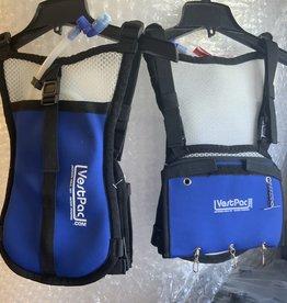 VESTPAC VEST PACK FISHING VEST AND WATER BLADDER BLUE
