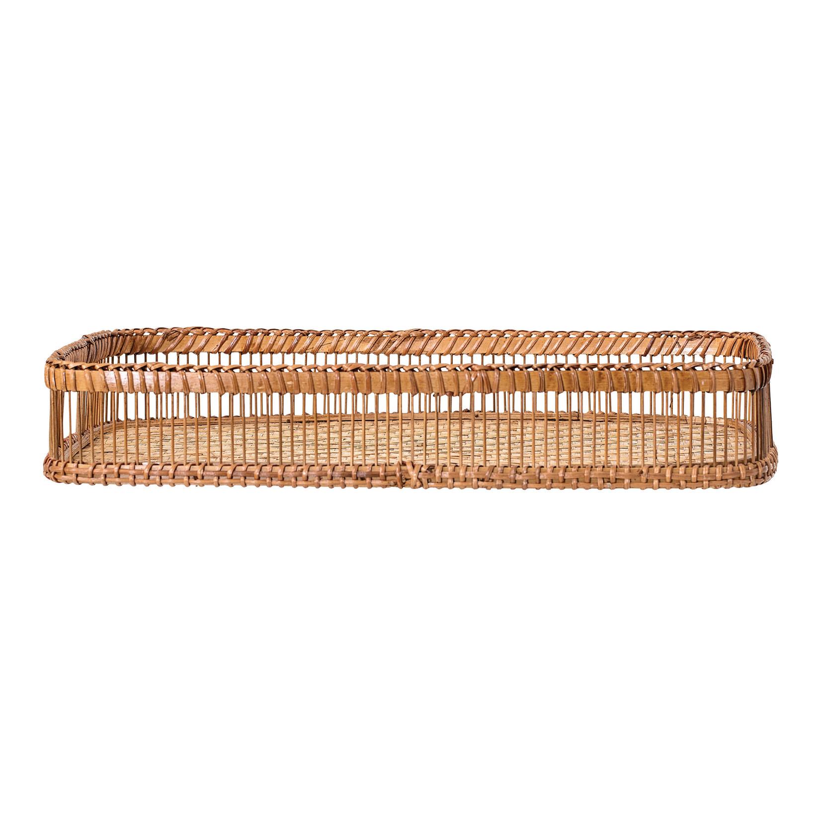 Hand-Woven Bamboo Tray