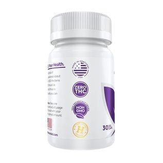 MedterraCBD Medterra 50mg CBD gel capsules 30ct bottle