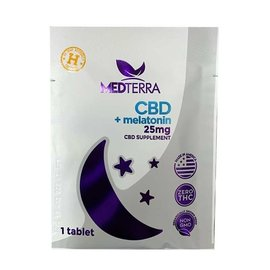 MedterraCBD Medterra PM Good Night Single-Serve Packet 25mg