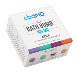 cbdMD cbdMD Bath Bomb 4 PACK