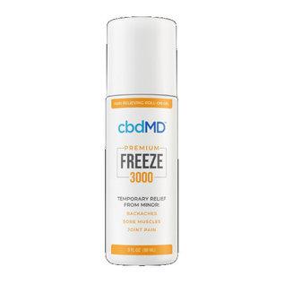 """cbdMD cbdMD """"Freeze"""" Pain Relief Roller 3oz"""