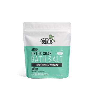 cbdFX CBDfx Bath Salts 100mg - 1 lb bag
