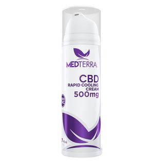 MedterraCBD Medterra Rapid Cooling Cream pump bottle