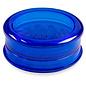 "Aerospaced Aerospaced 3 piece acrylic grinder - 2.3"" - Blue"