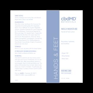 cbdMD cbdMD Botanicals - CBD Hands and Feet 4 OZ TUBE - 500 MG