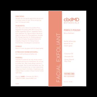 cbdMD cbdMD Botanicals - CBD Facial Exfoliant 4 OZ TUBE - 100 MG