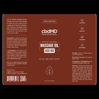 cbdMD cbdMD CBD Massage Oil